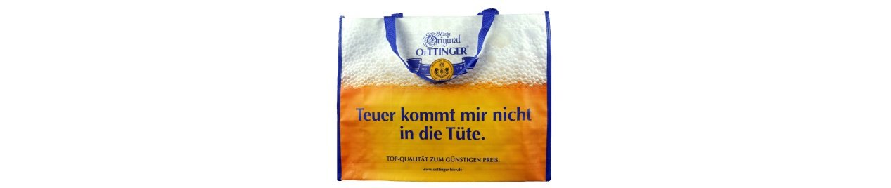Oettinger promotional tote bags PP